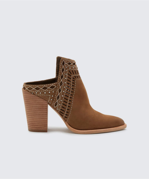 KHIA BOOTIES OLIVE -   Dolce Vita