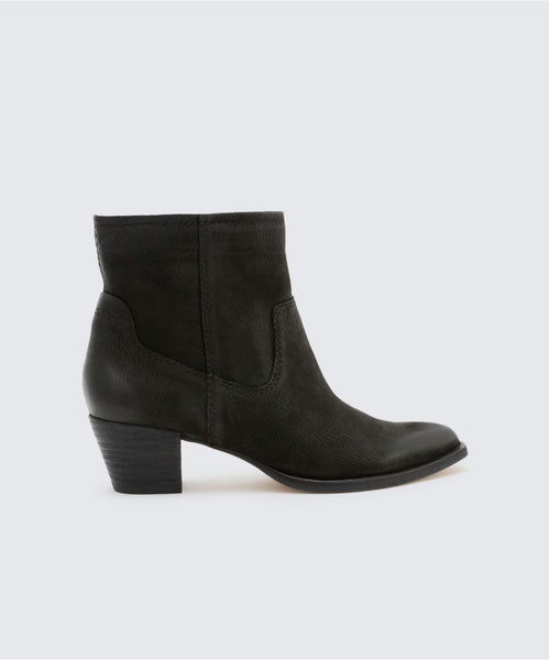 KODI BOOTIES IN BLACK -   Dolce Vita
