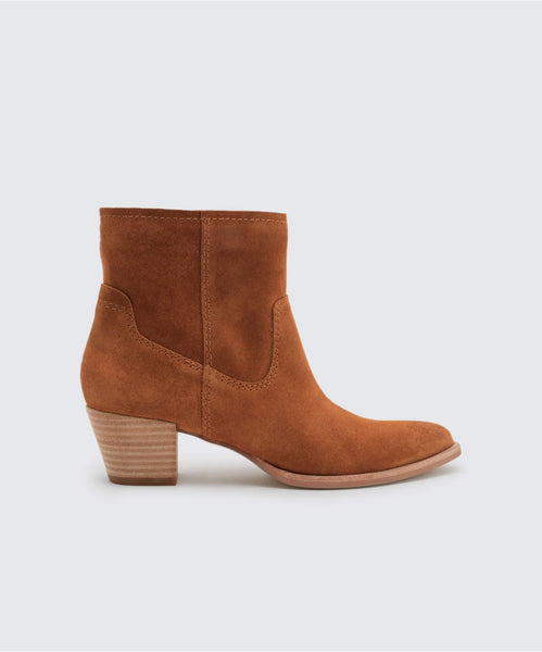 KODI BOOTIES IN SADDLE -   Dolce Vita