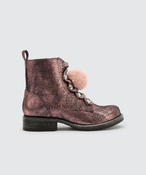 LAKEY BOOTIES IN PINK -   Dolce Vita