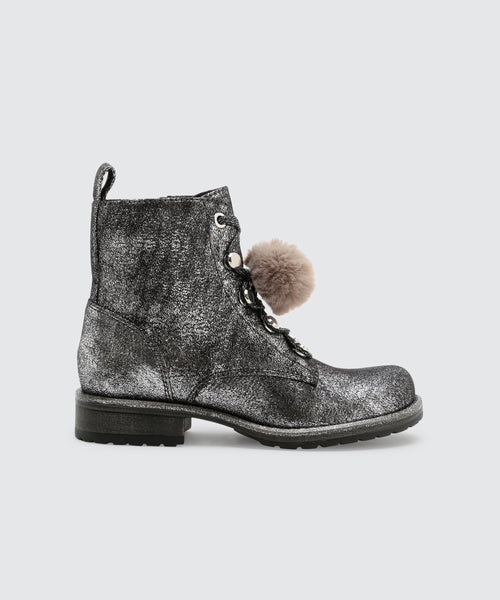 LAKEY BOOTIES IN SILVER -   Dolce Vita