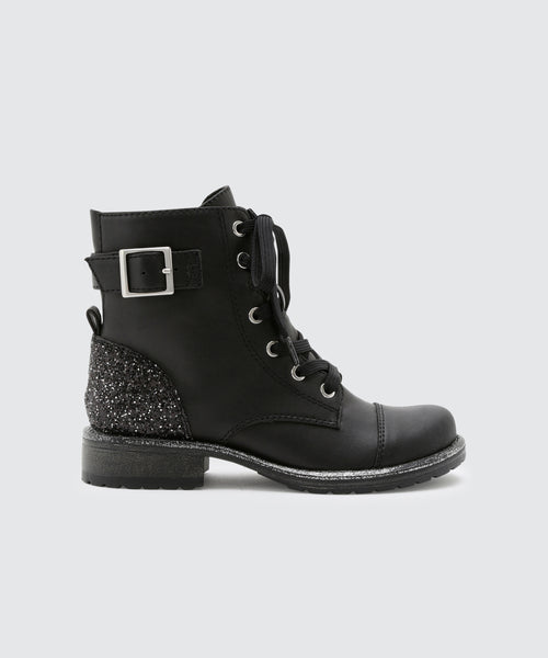 LAMA BOOTIES IN BLACK -   Dolce Vita