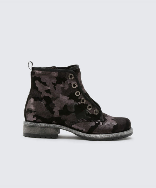 LANDIS BOOTIES IN CAMO -   Dolce Vita