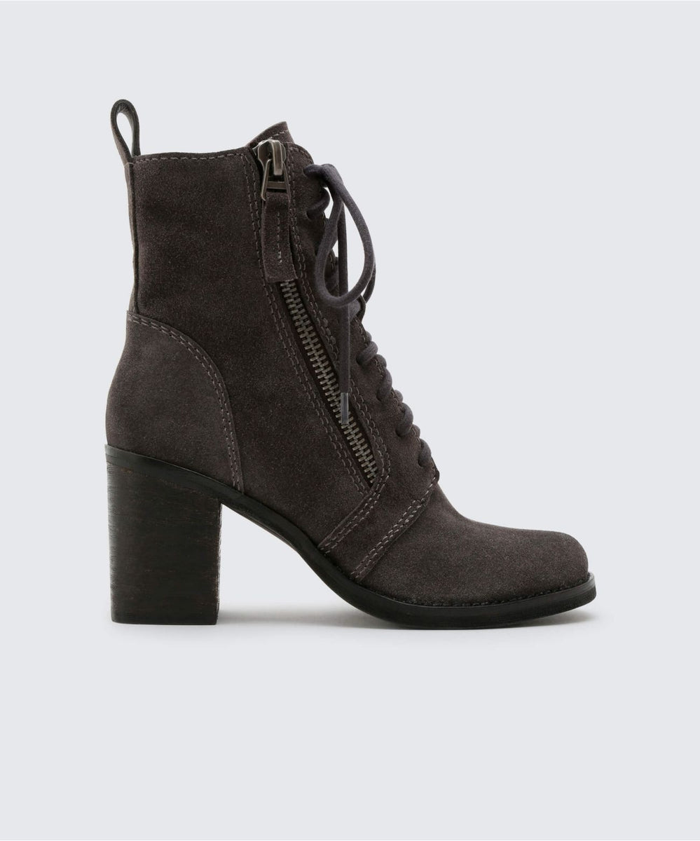 fe41d2e8449 LELA BOOTIES IN ANTHRACITE