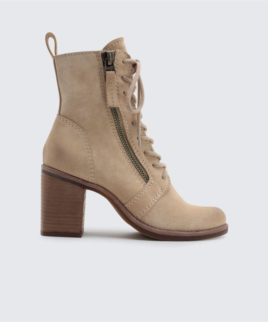LELA BOOTIES IN LIGHT TAUPE -   Dolce Vita