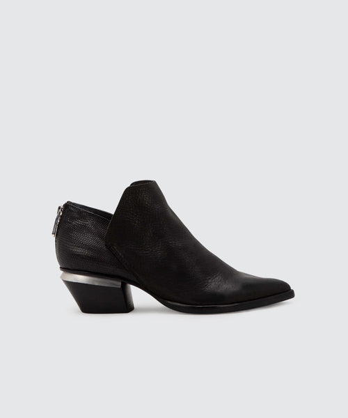 MARCA BOOTIES IN BLACK