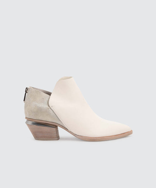 MARCA BOOTIES IN OFF WHITE -   Dolce Vita