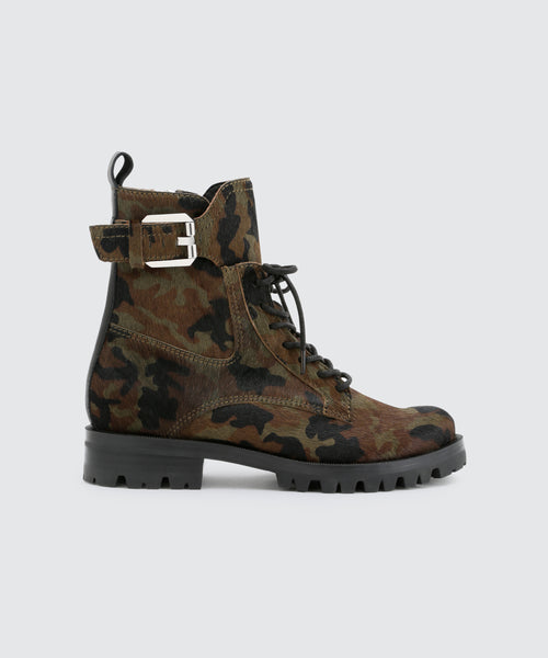 PAXTYN BOOTS IN CAMO -   Dolce Vita