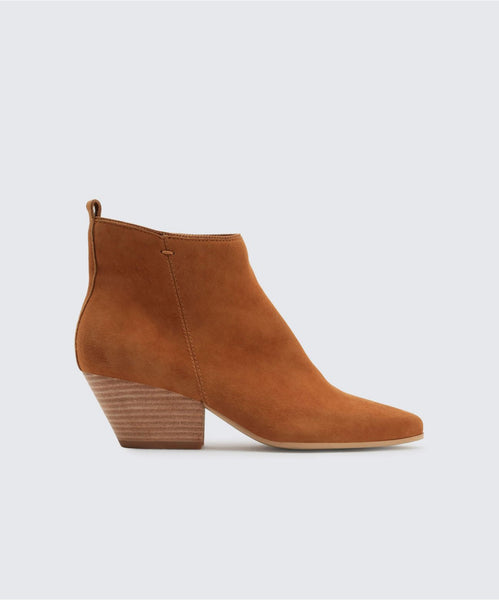 PEARSE BOOTIES DK SADDLE -   Dolce Vita