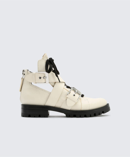PREIA BOOTIES IN OFF WHITE -   Dolce Vita