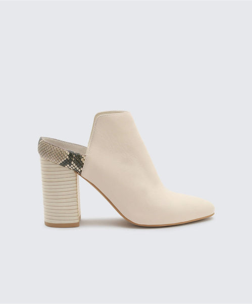 RENLY MULES IN IVORY -   Dolce Vita