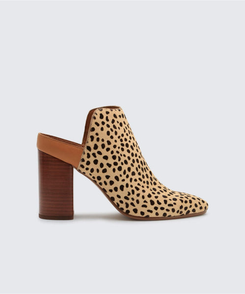 RENLY MULES IN LEOPARD -   Dolce Vita
