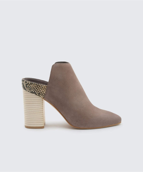 RENLY BOOTIES IN SMOKE -   Dolce Vita
