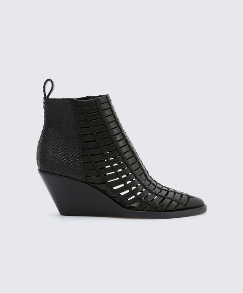RYDEN BOOTIES BLACK -   Dolce Vita