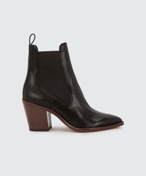 SABIL BOOTIES IN BLACK -   Dolce Vita