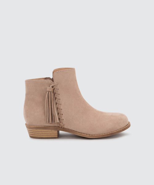 SAMIA BOOTIES IN ALMOND -   Dolce Vita