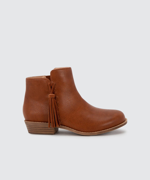 SAMIA BOOTIES IN TAN -   Dolce Vita