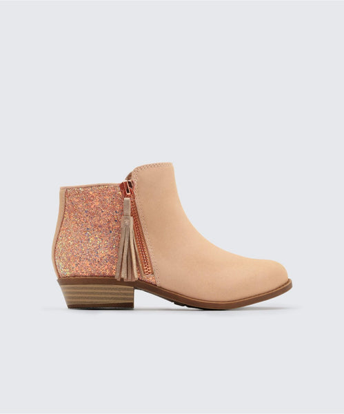 SANO BOOTIES IN BLUSH -   Dolce Vita