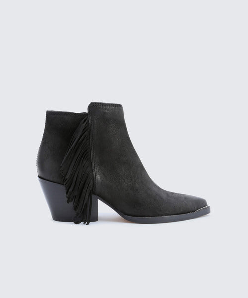 SEMA BOOTIES BLACK -   Dolce Vita