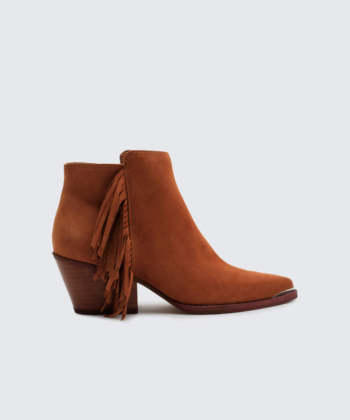 SEMA BOOTIES IN BROWN -   Dolce Vita
