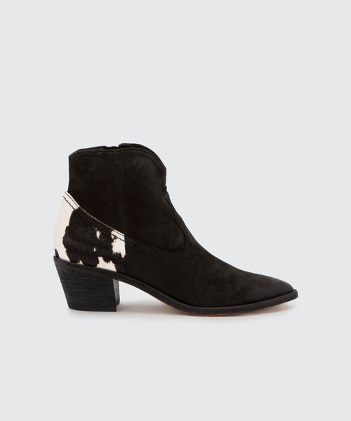 SENICA BOOTIES IN BLACK -   Dolce Vita
