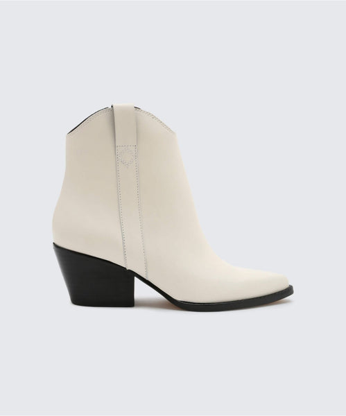 SERRA BOOTIES OFF WHITE -   Dolce Vita