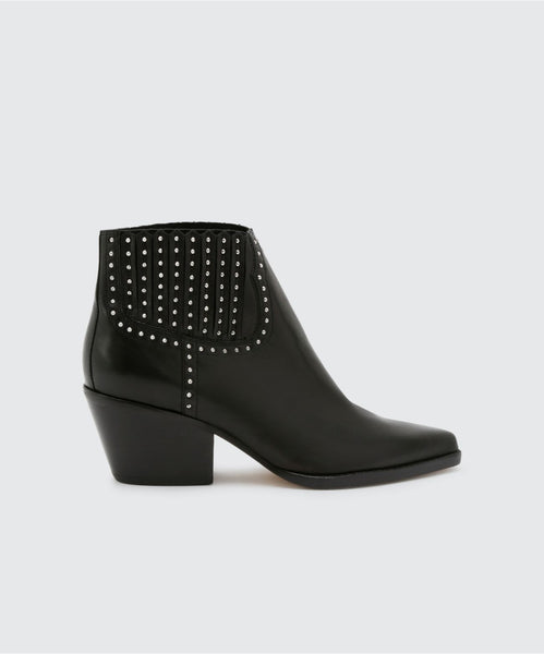 SETHE BOOTIES BLACK -   Dolce Vita