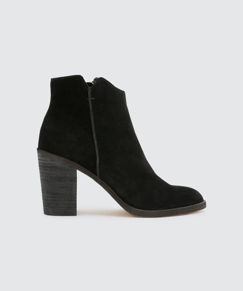 SEYON BOOTIES IN BLACK -   Dolce Vita