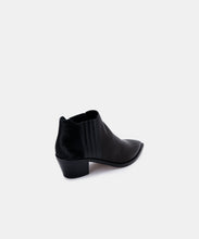 SHANA WIDE BOOTIES IN BLACK MULTI LEATHER -   Dolce Vita