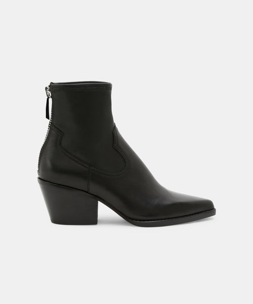 SHANTA BOOTIES IN BLACK -   Dolce Vita