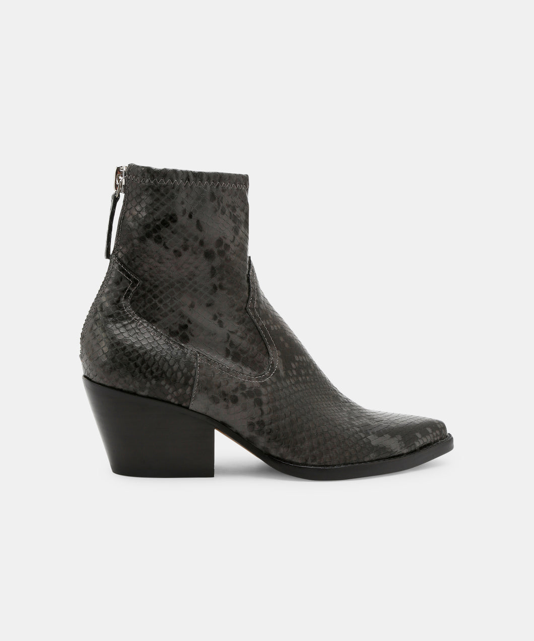 SHANTA BOOTIES IN GRAPHITE -   Dolce Vita