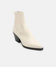 SHANTA BOOTIES IN OFF WHITE -   Dolce Vita