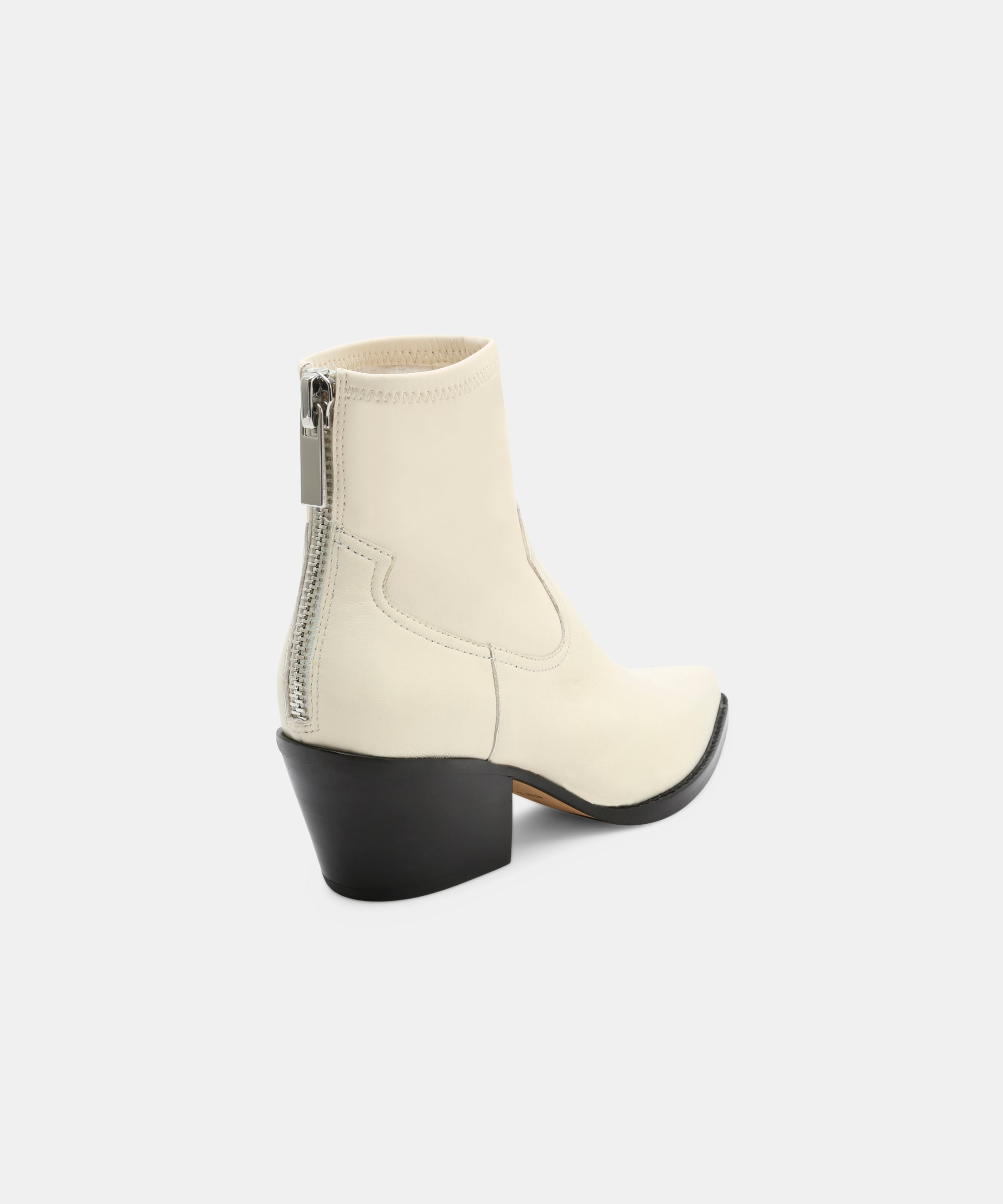 SHANTA BOOTIES IN OFF WHITE – Dolce Vita