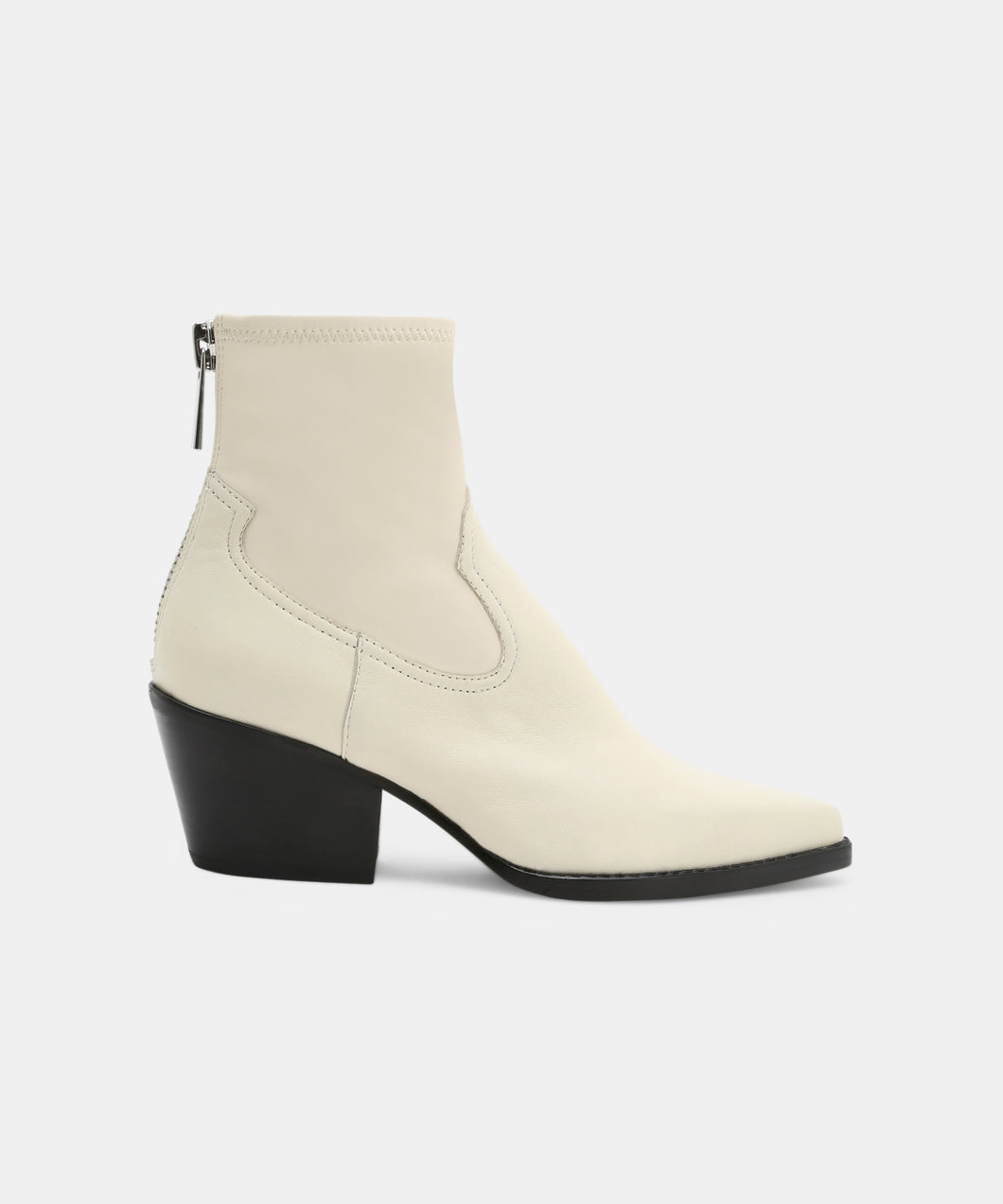 SHANTA BOOTIES OFF WHITE -   Dolce Vita