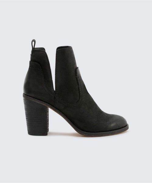 SHAY BOOTIES IN BLACK -   Dolce Vita
