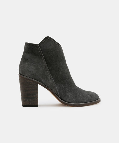 SHEP BOOTIES IN ANTHRACITE -   Dolce Vita
