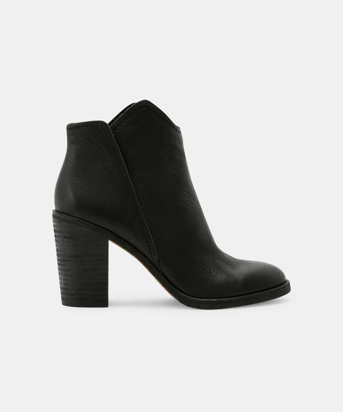 SHEP BOOTIES IN BLACK