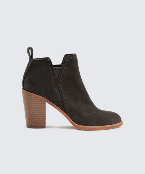 SIMONE BOOTIES IN ANTHRACITE -   Dolce Vita