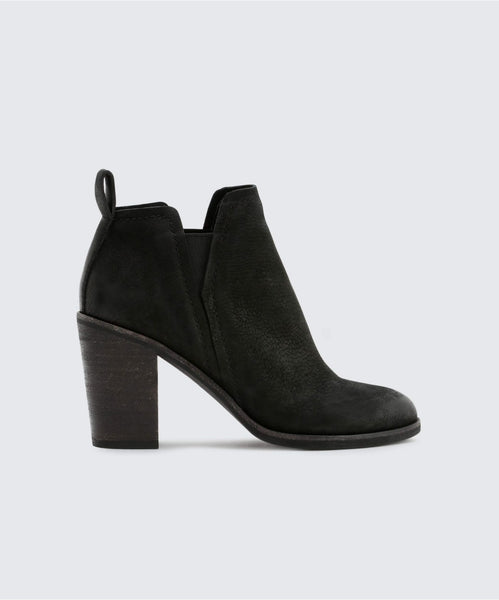 SIMONE BOOTIES IN BLACK -   Dolce Vita