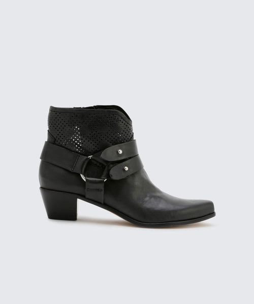 SOL BOOTIES BLACK -   Dolce Vita