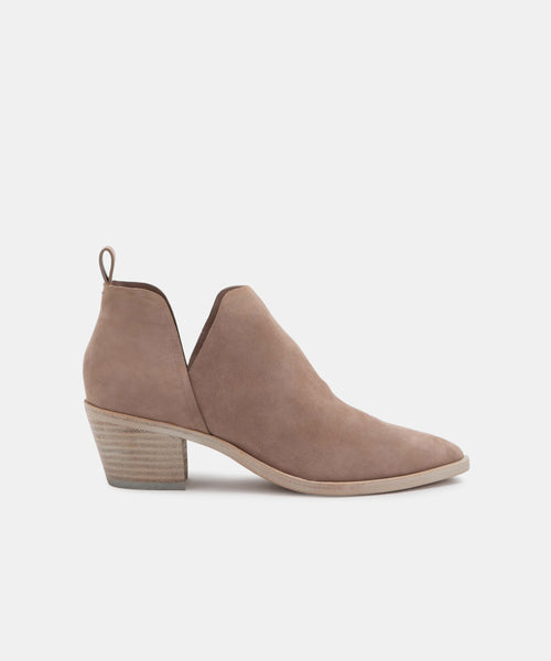 SONNI BOOTIES IN ALMOND -   Dolce Vita