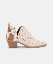 SONNI BOOTIES IN FAWN CALF HAIR -   Dolce Vita