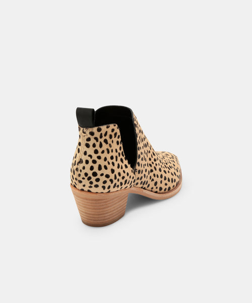 SONNI BOOTIES IN LEOPARD -   Dolce Vita
