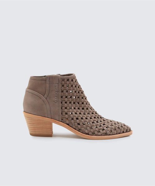 0338e0d3ad2 SPENCE BOOTIES SMOKE - Dolce Vita