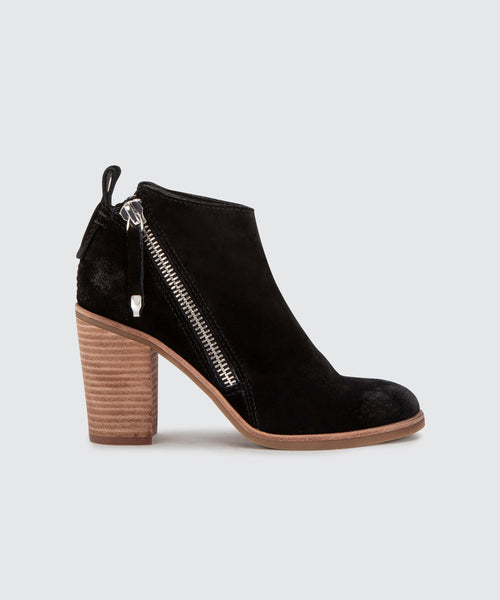 STEPH BOOTIES IN BLACK -   Dolce Vita