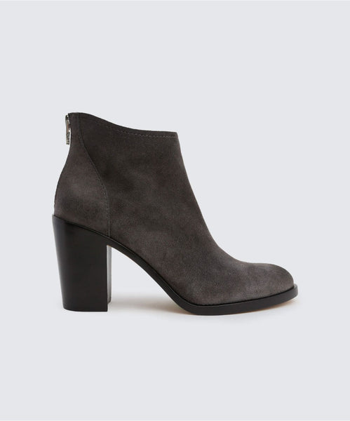 STEVIE BOOTIES IN ANTHRACITE -   Dolce Vita