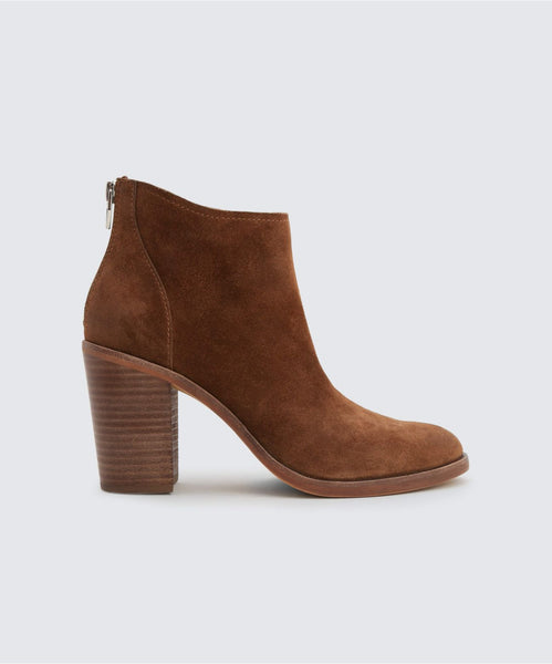 STEVIE BOOTIES IN BROWN -   Dolce Vita