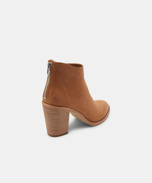 STEVIE BOOTIES IN TAN -   Dolce Vita