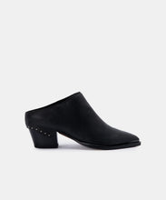 SUKIE MULES IN BLACK LEATHER -   Dolce Vita