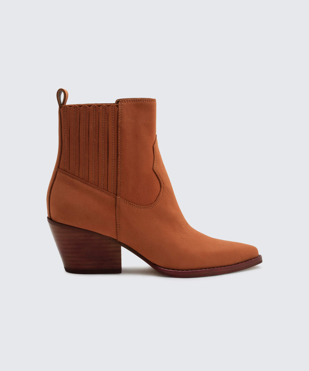 SUVI BOOTIES IN BROWN -   Dolce Vita